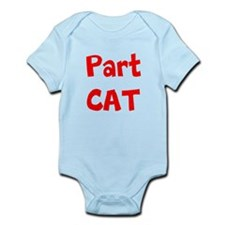 Part Cat Body Suit