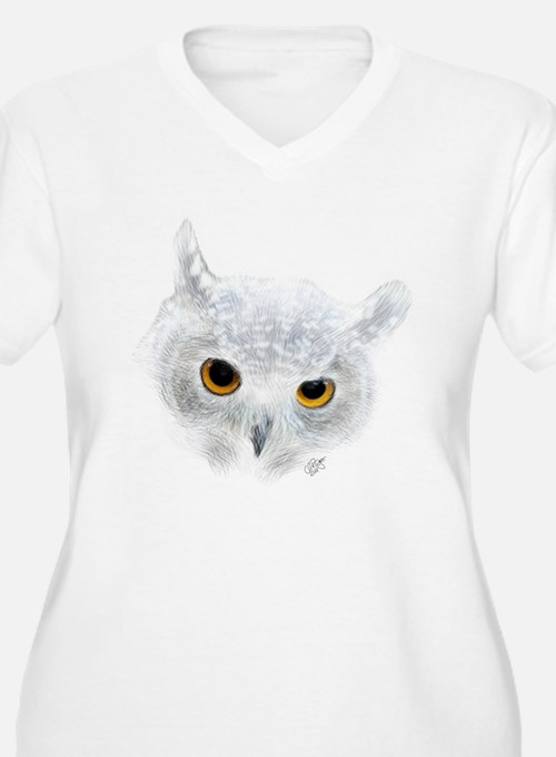 Owl Plus Size T-Shirt