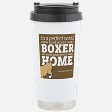 A Home for Every Boxer Travel Mug