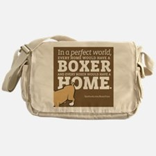 A Home for Every Boxer Messenger Bag