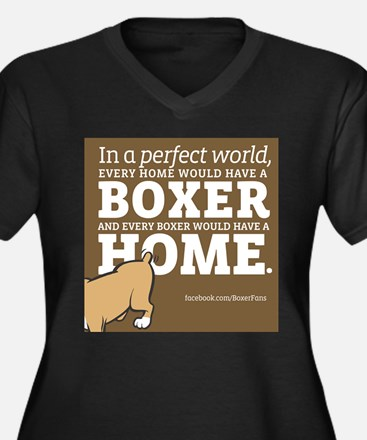 A Home for Every Boxer Plus Size T-Shirt