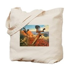 Pheasant Bird Tote Bag