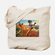 Pheasant Bird Tote Bag