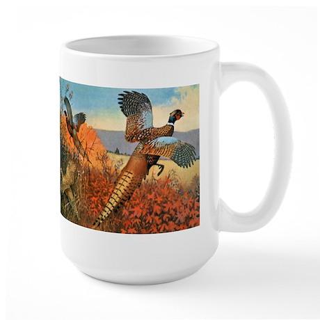 Pheasant Bird Large Mug