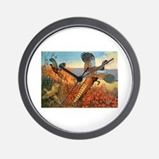 Pheasant Bird Wall Clock