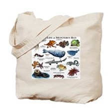 Marine Life of Monterey Bay Tote Bag