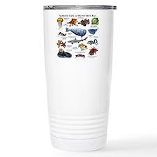Marine Life of Monterey Travel Mug