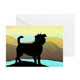 Affenpinscher Greeting Cards (10 Pack)