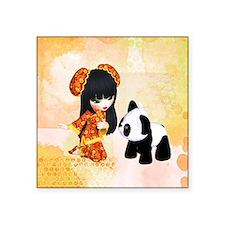 Kawaii China Girl Sticker