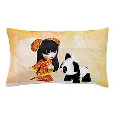 Kawaii China Girl Pillow Case