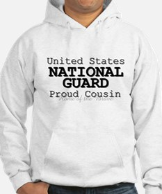 Proud National Guard Cousin Hoodie