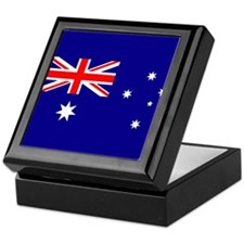Australian Flag Keepsake Box