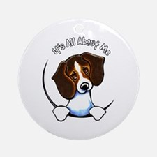 Tricolor Beagle IAAM Ornament (Round)