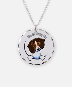Tricolor Beagle IAAM Necklace