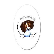 Tricolor Beagle IAAM Wall Sticker