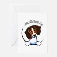 Tricolor Beagle IAAM Greeting Card