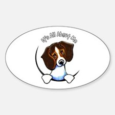 Tricolor Beagle IAAM Sticker (Oval)