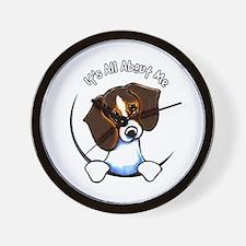 Tricolor Beagle IAAM Wall Clock