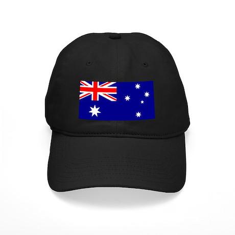 australian flag baseball hat by worldcitizens