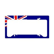 Australian Flag License Plate Holder