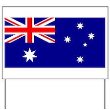 Australian Flag Yard Sign