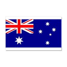 Australian Flag Car Magnet 20 x 12