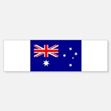 Australian Flag Bumper Bumper Bumper Sticker