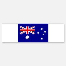 Australian Flag Bumper Car Car Sticker