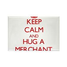 Keep Calm and Hug a Merchant Magnets
