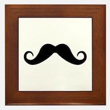 Moustache Framed Tile