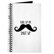 Curl Up Or Shut Up Journal
