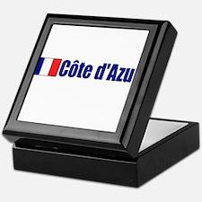 Cote d'Azur, France Keepsake Box