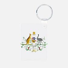 Australian Emblem Keychains