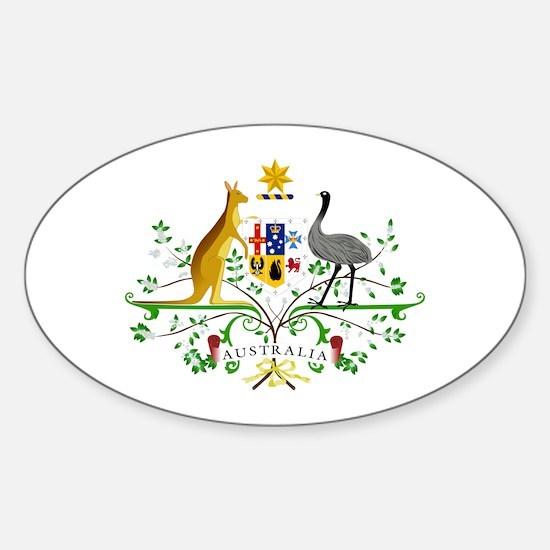 Australian Emblem Decal
