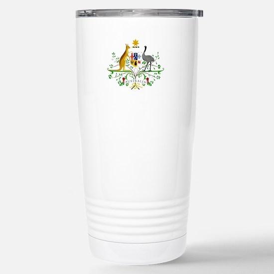 Australian Emblem Travel Mug