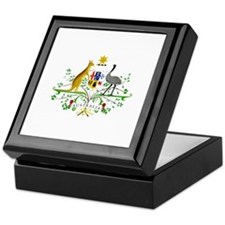 Australian Emblem Keepsake Box