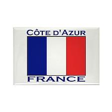 Cote d'Azur, France Rectangle Magnet