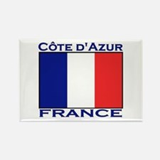 Cote d'Azur, France Rectangle Magnet