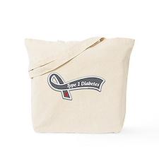 Berks T1D Awareness Ribbon Tote Bag