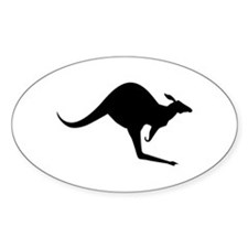 Australian Kangaroo Decal