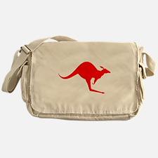 Australian Kangaroo Messenger Bag