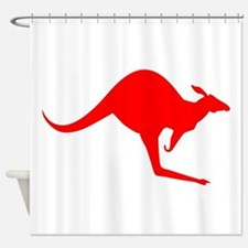 Australian Kangaroo Shower Curtain