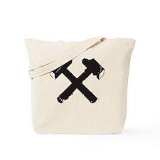 Crossed Hammers Tote Bag