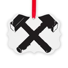 Crossed Hammers Ornament