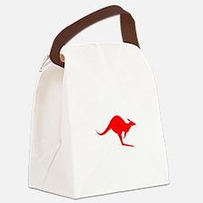 Australian Kangaroo Canvas Lunch Bag