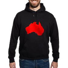 Australian Map Hoodie