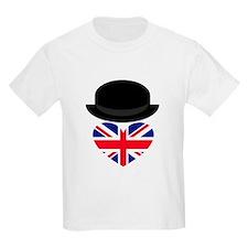 British Bowler Heart T-Shirt