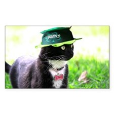 Saint Patrick kitty Decal