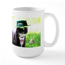 Saint Patrick kitty Mugs