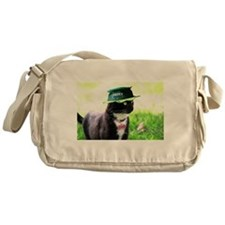 Saint Patrick kitty Messenger Bag